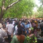 Grève SYNTSHA_Mobilisation Bobo Dioulasso